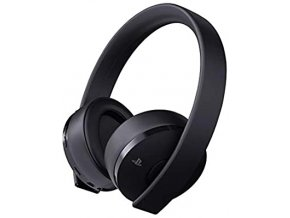 PS4 Sony Gold Wireless Stereo Headset 7.1