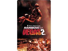 Xbox 360 tom clancys rainbow six vegas 2 steelbook