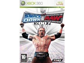 XBOX 360 smackdown vs raw 2007