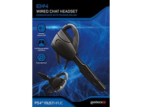 Gioteck EX4 Wired Chat Headset (PS4)