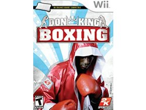 wii don king boxing