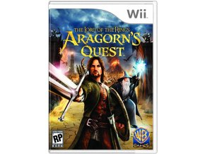 Wii Lord of the Rings Aragorn's Quest