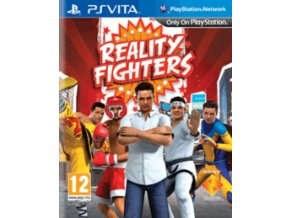 PS VITA reality fighters (nová)