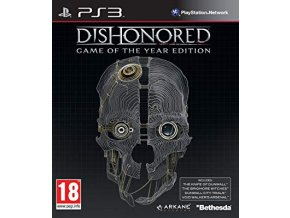 PS3 Dishonored Game Of The Year Edition