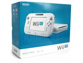 Nintendo Wii U basic Pack (8GB) white