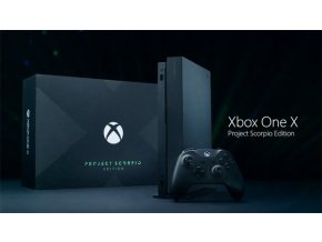 Microsoft Xbox One X 1TB + scorpio edition ovladač
