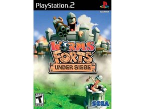 ps2 worms forts under siege