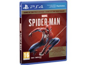 spiderman goty cz ps4