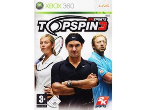 XBOX 360 Top Spin 3