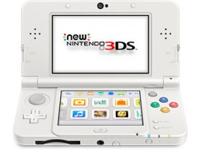 New Nintendo 3DS XL Pearl White + hra monster hunter