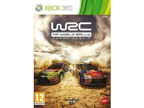 XBOX 360 WRC FIA World Rally Championship