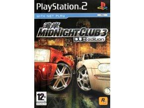 PS2 Midnight Club 3 Dub Edition
