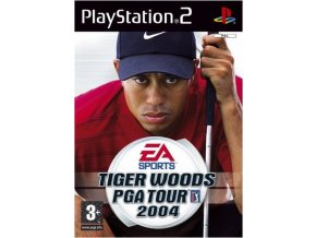 PS2 tiger woods 2004