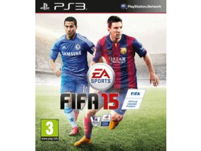 PS3 Fifa 15 CZ