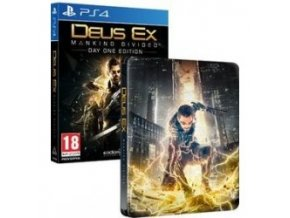 PS4 Deus Ex: Mankind Divided Steelbook Edition (Day One Edition)