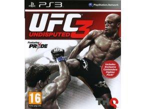 PS3 UFC Undisputed 3