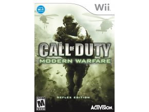 Wii Call of duty : Modern Warfare
