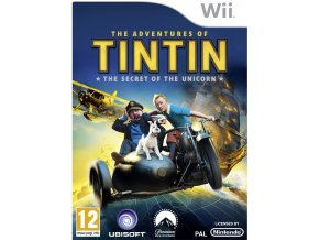 Wii The Adventures of Tintin