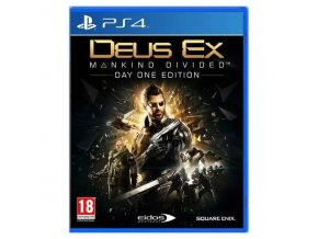 PS4 Deus Ex Mankind Divided (D1 Edition) (nová)
