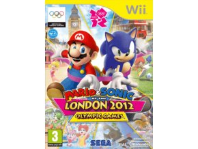 Wii Mario and Sonic at the London 2012 Olympic Games