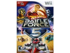 Wii hot wheels battle force 5
