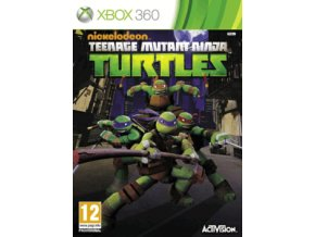 XBOX 360 Teenage Mutant Ninja Turtles