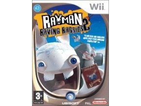 Wii Rayman Raving Rabbids 2