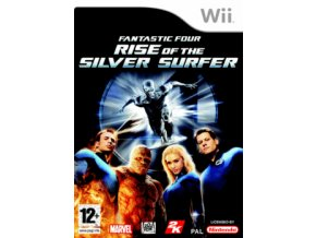 Wii Fantastic Four: The Rise of The Silver Surfer