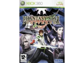 XBOX 360 Phantasy Star Universe