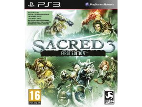 PS3 Sacred 3 (First Edition)