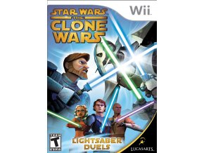 Wii Star Wars The Clone Wars: Lightsaber Duels