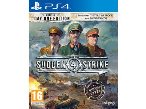 Sudden Strike 4 - Limited Day One Edition (nová)