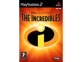 PS2 THE INCREDIBLES