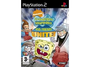 PS2 SPONGEBOB SQUAREPANTS AND FRIENDS UNITE