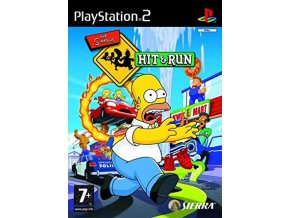 PS2 The Simpsons Hit & Run