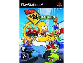 PS2 The Simpsons Hit & Run