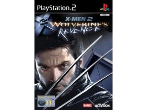 PS2 X-Men 2 Wolverines Revenge