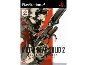 PS2 Metal gear solid 2 sons of liberty