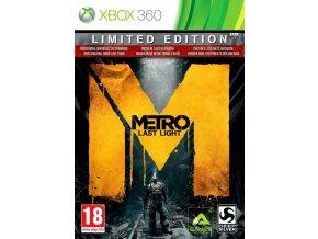 XBOX 360 Metro: Last Light CZ