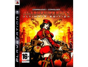 PS3 Command & Conquer: Red Alert 3 - Ultimate Edition