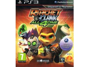 PS3 Ratchet and Clank: All for One