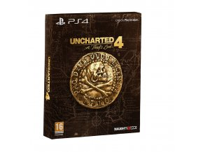PS4 Uncharted 4: A Thiefs End - Special Edition CZ