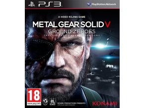 PS3 Metal Gear Solid V: Ground Zeroes