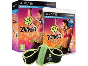PS3 Zumba Fitness + cvičební pás