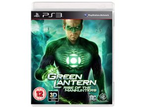 PS3 Green Lantern: Rise of the Manhunters