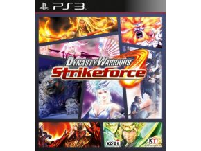 PS3 Dynasty Warriors: Strikeforce