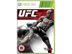 XBOX 360 UFC Undisputed 3
