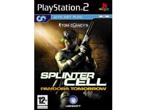 PS2 Splinter Cell Pandora Tomorrow