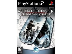 PS2 Medal of Honour: European Assault
