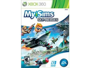 XBOX 360 My Sims Sky Heroes
